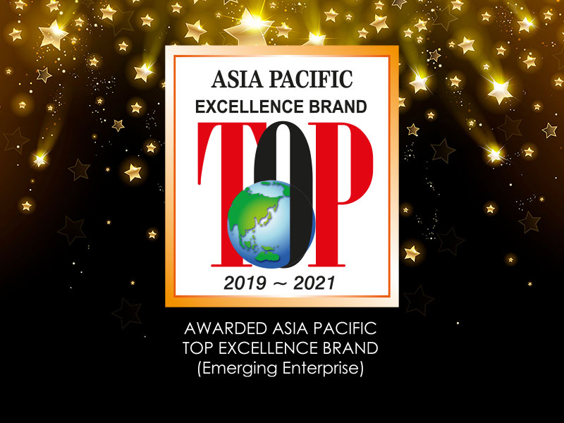 asia pacific top excellent brand